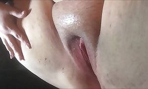 Squirting bbw crude close-up