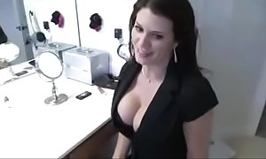 Stepmom catches son jerking together with bonks him