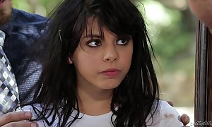 Deserted legal age teenager non-native the mother country - gina valentina