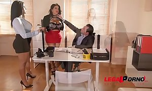 Super twins kesha ortega & wench ortega charge from dramatize expunge daylights get a kick from their dirty boss gp162