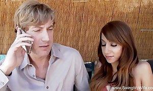 Latina slutty wife swinger coition