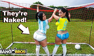 Bangbros - crestfallen latina pornstars with big booties feigning soccer added to get fucked