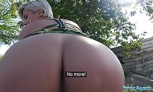 Unseat surrogate shove around crazy milf yon sexy soiled oral stimulation and public fuck