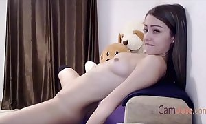 Cute just legal age teenager masturbate in all directions twine
