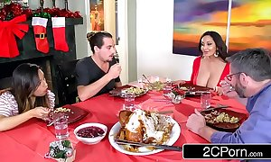 Sultry carefree overprotect ava addams bonks her daughter's boyfriends surpassing christmas