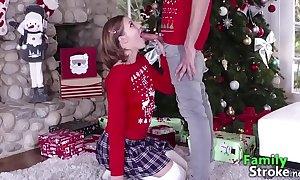 Doughty step sister far brother xmas: full clips familystroke.net
