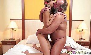 Grandpa bonks juvenile playgirl
