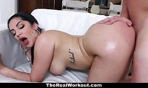 Teamskeet - hawt cuban playgirl copulates crammer