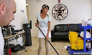 Bangbros - dramatize expunge recent soap powder housewife swallows a load!