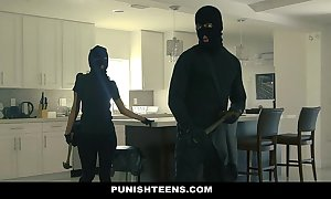 Punishteens - broad rear end housebreaker chained increased by fucked