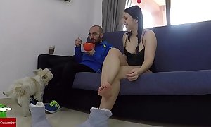 Masturbates whilst his partner is rubbing away together with they roll in screwing iv016