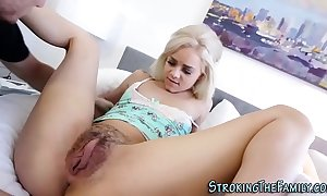 Teen stepdaughter violated