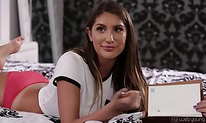 Hot lesbian babes abella danger and celebratory ames