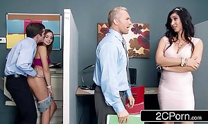 Stepmom catches will not hear of stepdaughter fucking a co-worker ariana marie isis love