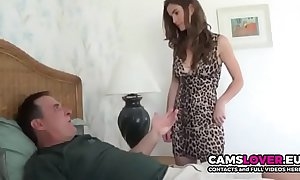 Horny step-father be wild about her nipper later on knocker is out! - camslover.eu