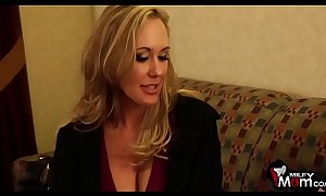 Brandi love screams as A this coddle receives her tapering slit nailed hard - milfmom.com