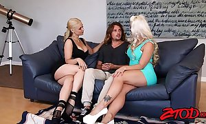 Sarah vandella and holly main ingredient reverence cougar sandwiches