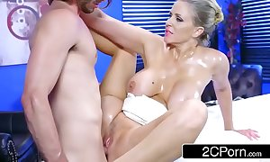 Full-grown julia ann acquires oiled with reference to and willing