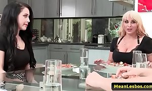 Hawt niggardly lesbian babes - like mother, dyke sprog with holly halston & noelle easton 01