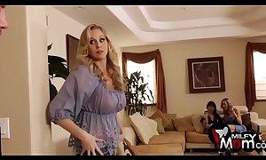 Brandi hallow eva karera increased by julia ann fuck jointly - milfymom.com