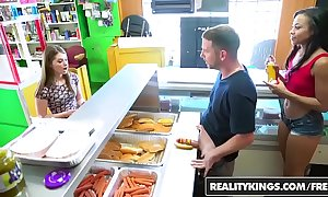 Realitykings - initial talks - (adrian maya) and (alice march) - XXX dog adhere to