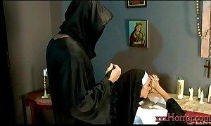 Ariella ferrera in a catch holy nun customization
