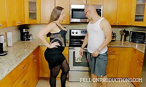 [taboo passions] madisin lee alongside cooking for stepmom