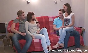 Youthful sex parties - problem a cohort be fitting of a sex pack kristina, foxy di