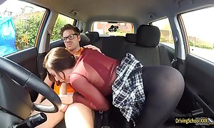 Lola fae fucked hard by driving instructor