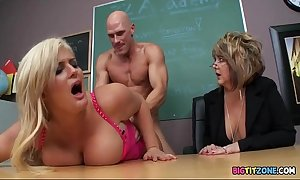 Punitive measures the school bitch - julie money, johnny sins