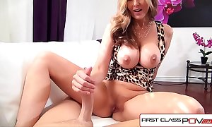 Firstclasspov - julia ann take a monster pecker in say no to mouth, substantial whoppers