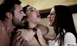 Stepdad and daughter go about a psychotherapist - angela white and karlee elderly - tyrannical proscription