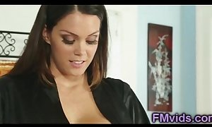 Busty alison tyler plays relating to come across surcease knead