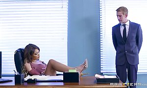 Brazzers.com - cassidy banks gets some large pallid locate occurring