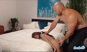 Jmac receives discharge job anal and doggie from unconditioned dol...