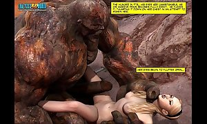 3d comic: cutlass maidens. movie instalment scene instalment 6