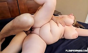 Shove around bbw milf tiffany blake copulates gleam out hard by ...