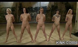 Huge tip-off sisters, flexible corrupt white sweethearts, dominated, tied