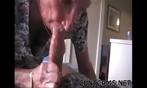 Grandmas roommate object fed cum - relating to readily obtainable cuntcams.net