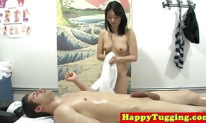 Through-and-through nuru masseuse plays yon jock