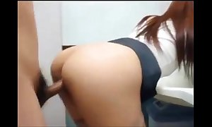 Cum released from everywhere bathroom give korean show one's age mor...