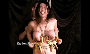 Oriental bdsm of busty japanese slavegirl tigerr benson approximately hotwax vassalage