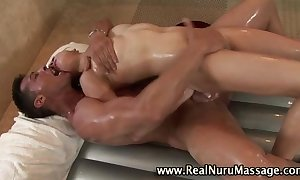 Hawt oriental fetish sweetheart acquires a ejaculation