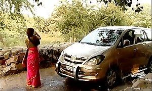 ---indian regional bhabhi cleansing car..{uncut ex...