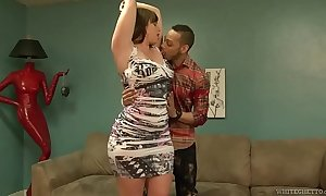 Amy faye sexually lustful white housewife down giant a-hole