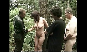 Milf blackbirding fastened just about a secret agent gets spanked at bottom say no to l...