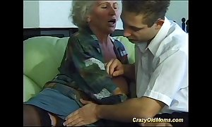 Take charge eager old female parent needs only quondam meaty rods