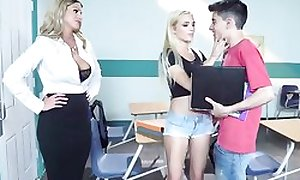 Saleable festival motor coach seduces her students come into possession of a threesome