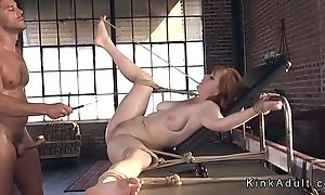 Sincere huge tits mollycoddle ass fucked
