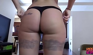 Blackmailing my stripper affectation mom through-and-through
